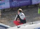 Jari Matti Latvala waiting