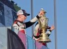 Eflyn Evans and Dan Barritt - Trophy