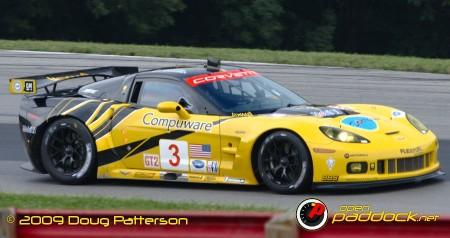 Corvette Racing debuts its GT2 car at Mid-Ohio.