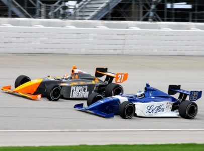 James Davison and Daniel Harrington at Chicagoland -- Photo IndyCar.com