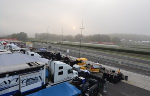 Barber Motorsports Park pit lane