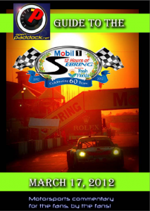 Downloadable PDF of the OpenPaddock 12 Hours of Sebring Fan Guide courtesy of the ALMS Chicks.
