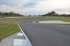 track walk before Honda Indy Grand prix of Alabama