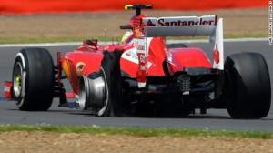 Ferrari Explosion