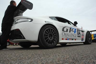 Pirelli World Challenge Aston-Martin Vantage GT4