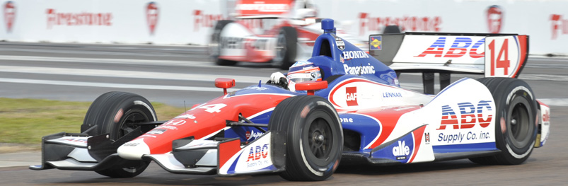 Takuma Sato in Turn 1