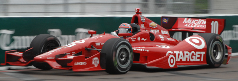 Tony Kanaan Saint Petersburg Turn 3