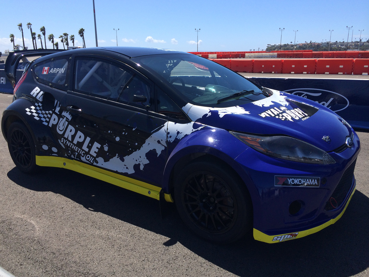 Royal Purple RBGRC Race Car