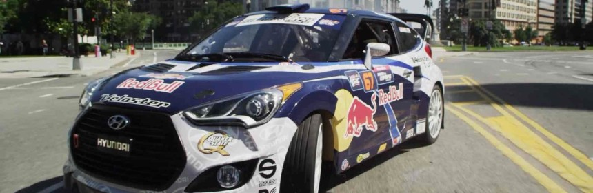 Rhys Millen and Red Bull Drift into Washington D.C.