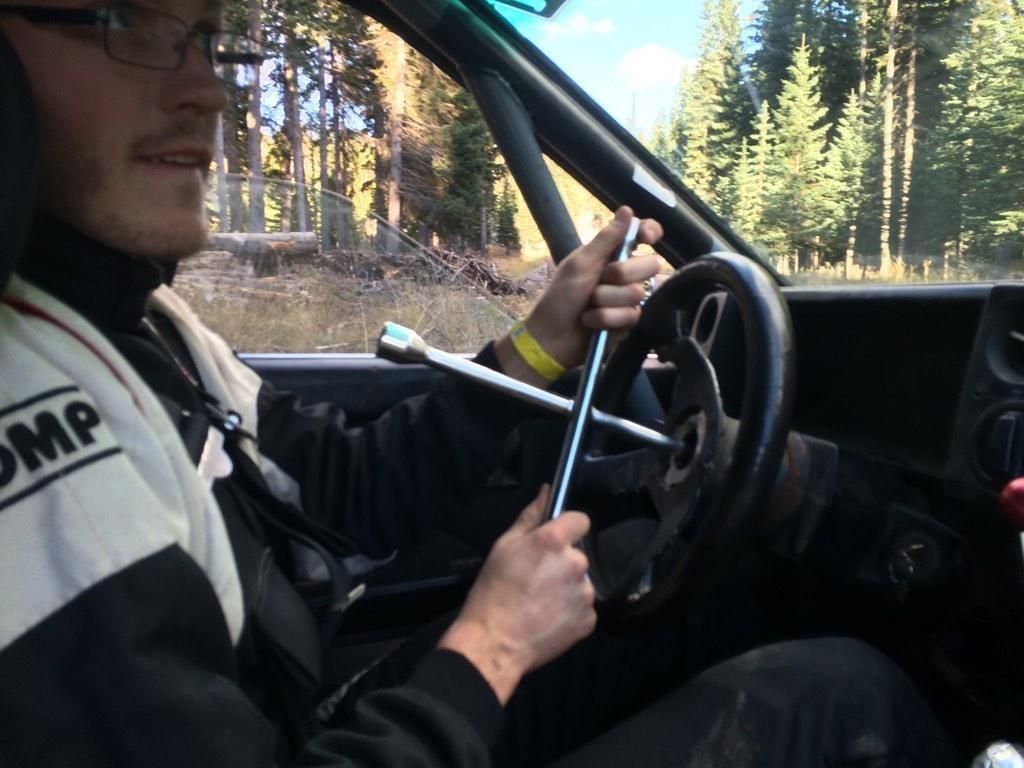 Dustin Embrey - Tire Iron Steering Photo: via Twitter