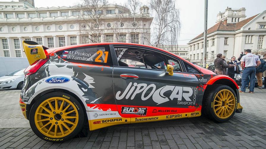 Martin Prokop 2015 Fiesta RS WRC