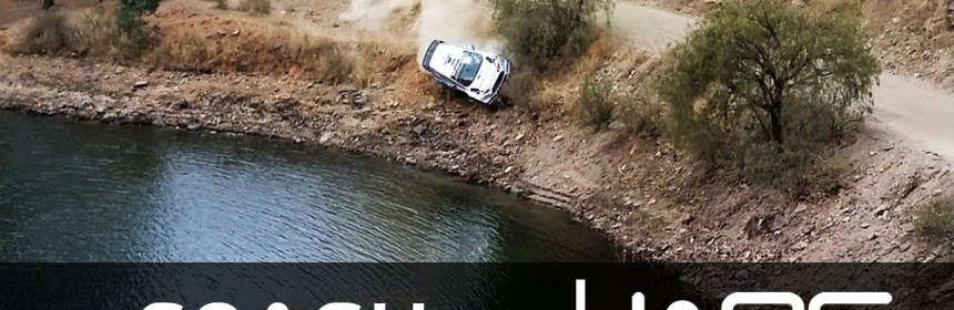 VIDEO – OTT Tanak & Ragio Molder Crash into Lake