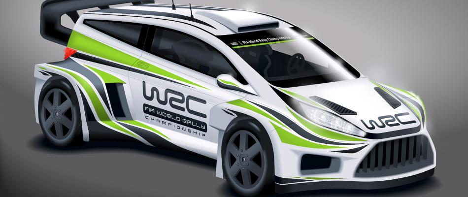 Artists concept of potential 2017 WRC design