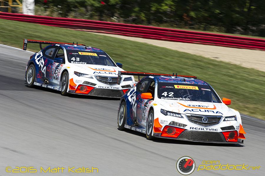 Cunningham and Eversley at 2015 Mid-Ohio