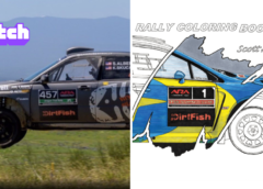RallyCast Episode 72 – Sam Albert on VR Gaming and Scott Alderson Art's Rally Coloring Book