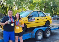 RallyCast Episode 106 – Stephen and Katie Gingras from Ojibwe and Sound Man Derek Johnson Love